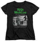 Womens: War Of The Worlds - Attack People Poster T-shirts