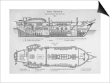 Hms Beagle Charles Darwin's Research Ship Posters by R.t. Pritchett