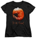 Womens: Trick R Treat - Pumpkin T-shirts