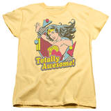 Womens: Wonder Woman - Totally Awesome T-shirts