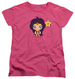 Womens: Wonder Woman - Cute Wonder Woman T-Shirt