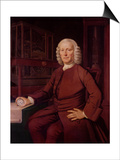 Portrait of John Harrison (1693-1776) Prints by T. King