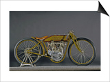 1921 Harley Davidson Board Track Racer Print by S. Clay
