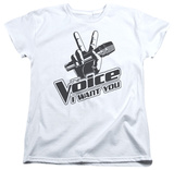 Womens: The Voice - One Color Logo Shirts