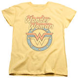 Womens: Wonder Woman - Faded Wonder T-shirts
