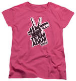 Womens: The Voice - Adam Logo T-shirts