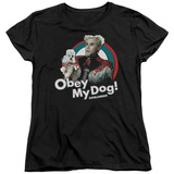 Womens: Zoolander - Obey My Dog T-shirts