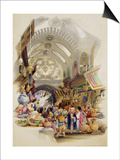 The Missr Tcharsky, or Egyptian Market, in Constantinople Art by A. Margaretta Burr