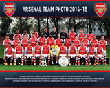 Arsenal Team 14/15 Prints