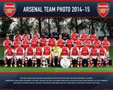 Arsenal Team 14/15 Prints