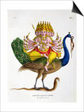 Skanda Prints by A. Geringer