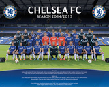 Chelsea Team 14/15 Posters