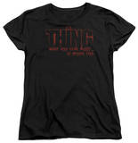Womens: The Thing - Fear Shirts