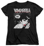 Womens: Vampirella - I Must Feed T-shirts