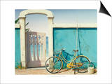 Beach Bike Posters by D.k. Gifford