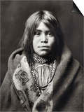 Apache Girl, C1903 Art by Edward S. Curtis