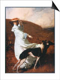 Diana of the Uplands Print by C.w. Furse