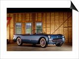 1954 Chevrolet Corvette Prints by S. Clay