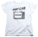 Womens: They Live - Consume T-shirts