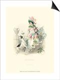 Le Fleur Animé IV Prints by J.J. Grandville