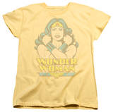 Womens: Wonder Woman - Wonder At Large Shirts