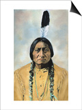 Sitting Bull (1834-1890) Print by D. F. Barry
