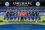 Chelsea Team Photo 14/15 Poster