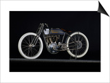 1914 Harley Davidson Board Track Racer Prints by S. Clay