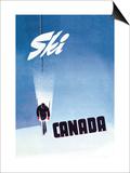 Ski Canada Prints by P. Ewart