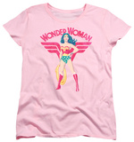 Womens: Wonder Woman - Wonder Woman Sparkle T-shirts
