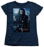 Womens: The Hobbit: An Unexpected Journey - Thorin Poster Shirts