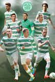 Celtic Players 14/15 Print