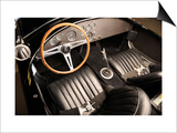 1966 AC Cobra 427 Interior Prints by S. Clay