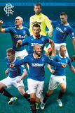 Rangers Players 14/15 Prints