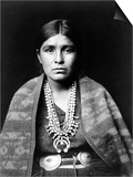 Navajo Woman, C1904 Posters by Edward S. Curtis