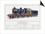 Great Eastern Railway Express Loco No 1853 Poster by W.j. Stokoe