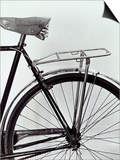 Mudguard, Seat and Rear Tire of a Bicycle Prints by A. Villani