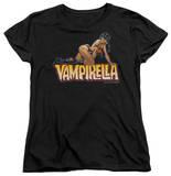 Womens: Vampirella - Title Crawl T-Shirt