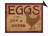 Huevos Póster por Norman Wyatt Jr.