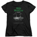 Womens: War Of The Worlds - Attack Poster T-shirts
