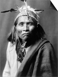 Apache Man, C1906 Prints by Edward S. Curtis