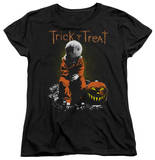 Womens: Trick R Treat - Sitting Sam T-Shirt