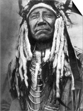 Cheyenne Chief, C1910 Print by Edward S. Curtis