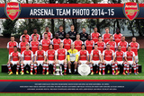 Arsenal Team Photo 14/15 Posters