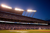 Division Series - Los Angeles Angels of Anaheim v Kansas City Royals - Game Three Photographic Print by Jamie Squire