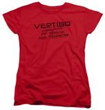 Womens: Vertigo - Tagline Logo T-shirts