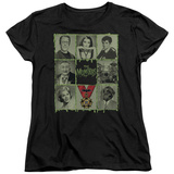 Womens: The Munsters - Blocks T-shirts