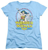 Womens: Wonder Woman - Star Of Paradise Island Shirt