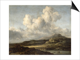 Sunny Landscape Prints by Jacob Isaaksz. Or Isaacksz. Van Ruisdael