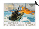Invest in the Victory Liberty Loan Poster Print by L.a. Shafer